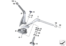 Goto diagram: BMW Classic Motorbike Model K 1600 GTL 17 (0F02, 0F12)( USA ), Category 32.71 Handlebar :: Diagram: 32_2489