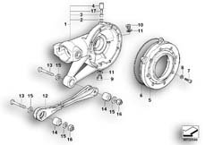 Goto diagram: BMW Classic Motorbike Model K 1200 GT 01 (0548,0558)( USA ), Category 33.76 Rear-axle-drive parts :: Diagram: 33_0682