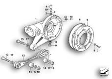 Goto diagram: BMW Classic Motorbike Model R 1150 GS Adv. 01 (0441,0492)( USA ), Category 33.76 Rear-axle-drive parts :: Diagram: 33_1018