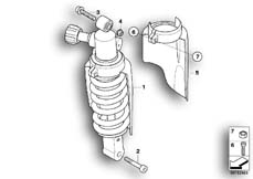 Goto diagram: BMW Classic Motorbike Model R 1200 GS Adve. 10 (0470,0480)( ECE ), Category 33.54 Spring strut, rear :: Diagram: 33_1214