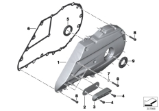Goto diagram: BMW Classic Motorrad Modell C 650 Sport 16 (0C04, 0C14)( USA ), Category 33.35 Rear wheel swinging arm cover :: Diagram: 33_1682