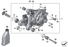 Goto diagram: BMW Classic Motorbike Model R 1200 GS 04 (0307,0317)( ECE ), Category 33.74 Bevel gear, Integral ABS Generation 1 :: Diagram: 33_1771