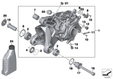 Goto diagram: BMW Classic Motorbike Model R 1200 R 06 (0378,0398)( USA ), Category 33.74 Bevel gear, Integral ABS Generation 2 :: Diagram: 33_1776