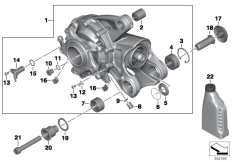 Goto diagram: BMW Classic Motorbike Model K 1200 R (0584,0594)( USA ), Category 33.74 Bevel gear, Integral ABS Generation 1 :: Diagram: 33_1783