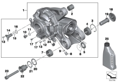 Goto diagram: BMW Classic Motorrad Modell K 1300 GT (0538,0539)( USA ), Category 33.74 Bevel gear, Integral ABS Generation 2 :: Diagram: 33_1789