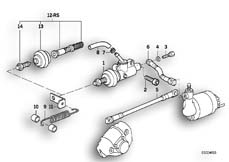 Goto diagram: BMW Classic Motorrad Modell K 100 RS 83 (0502,0503,0513)( USA ), Category 34.10 Brake master cylinder/ABS, rear :: Diagram: 34S0635