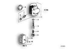 Goto diagram: BMW Classic Motorbike Model R90/6( ECE ), Category 34.05 Brake caliper, front :: Diagram: 34_0604