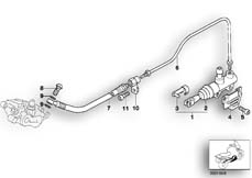 Goto diagram: BMW Classic Motorbike Model R 1200 C Indep. 00 (0405,0433)( ECE ), Category 34.31 REAR BRAKE MASTER CYLINDER :: Diagram: 34_0752