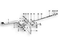Goto diagram: BMW Classic Motorrad Modell R69 S( ECE ), Category 34.10 Rear-brake actuation :: Diagram: 34_0972