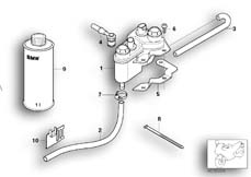 Goto diagram: BMW Classic Motorbike Model K 1200 GT 01 (0548,0558)( USA ), Category 34.21 Fluid reservoir with integral ABS :: Diagram: 34_1249