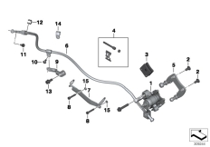 Goto diagram: BMW Classic Motorbike Model C 600 Sport (0131, 0132)( ECE ), Category 34.41 Parking brake :: Diagram: 34_2029