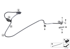 Goto diagram: BMW Classic Motorbike Model R nineT Racer (0J21, 0J23)( USA ), Category 34.52 Wheel speed sensor, rear :: Diagram: 34_2436