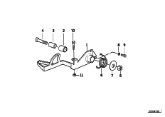Goto diagram: BMW Classic Motorbike Model R 1150 GS Adv. 01 (0441,0492)( USA ), Category 35.21 Brake pedal :: Diagram: 35_0361