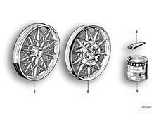Goto diagram: BMW Classic Motorbike Model R65( USA ), Category 36.10 CAST IRON RIM SILVER :: Diagram: 36_0143