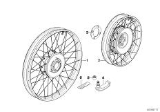 Goto diagram: BMW Classic Motorbike Model R 1200 GS Adve. 10 (0470,0480)( ECE ), Category 36.31 Spoke wheel :: Diagram: 36_0412