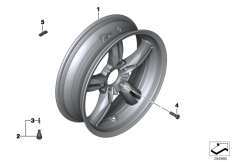 Goto diagram: BMW Classic Motorrad Modell C 650 Sport 16 (0C04, 0C14)( USA ), Category 36.31 REAR WHEEL :: Diagram: 36_1727