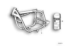 Goto diagram: BMW Classic Motorrad Modell R 80 G/S( ECE ), Category 46.05 FRONT FRAME :: Diagram: 46_0013