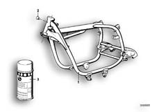 Goto diagram: BMW Classic Motorbike Model R65( USA ), Category 46.05 FRONT FRAME :: Diagram: 46_0022