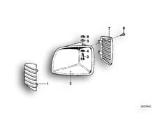 Goto diagram: BMW Classic Motorbike Model R65T( ECE ), Category 46.40 AIR INLET :: Diagram: 46_0037
