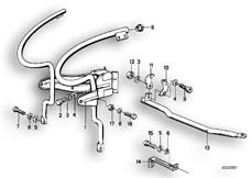 Goto diagram: BMW Classic Motorbike Model R 100 RS( ECE ), Category 46.35 FAIRING BRACKET :: Diagram: 46_0086