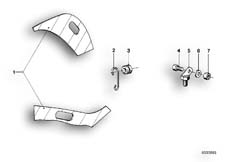 Goto diagram: BMW Classic Motorbike Model R 80 RT( USA ), Category 46.70 SAFETY BAR JIG :: Diagram: 46_0097