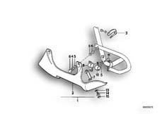 Goto diagram: BMW Classic Motorbike Model R 100 GS PD( ECE ), Category 46.48 ENGINE COVERING PD :: Diagram: 46_0179
