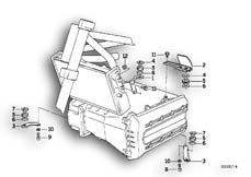 Goto diagram: BMW Classic Motorbike Model K 1100 LT (0526, 0536)( ECE ), Category 46.63 TRIM PANEL BRACKET :: Diagram: 46_0217