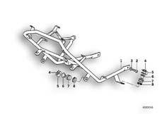 Goto diagram: BMW Classic Motorbike Model R 1100 RS 93 (0411,0416)( ECE ), Category 46.63 FAIRING BRACKET :: Diagram: 46_0245