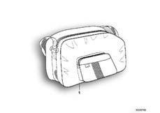 Goto diagram: BMW Classic Motorrad Modell R 1100 R 94 (0402,0407)( USA ), Category 46.54 Interior bag f case :: Diagram: 46_0270