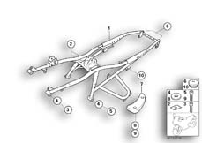 Goto diagram: BMW Classic Motorrad Modell R 1100 R 94 (0402,0407)( USA ), Category 46.51 Rear frame :: Diagram: 46_0280