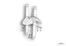 Goto diagram: BMW Classic Motorrad Modell R 1100 R 94 (0402,0407)( USA ), Category 46.62 LOWER MUDGUARD :: Diagram: 46_0283