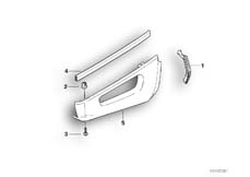 Goto diagram: BMW Classic Motorbike Model R 850 GS 95 (0403)( ECE ), Category 46.63 Fairing side section :: Diagram: 46_0289