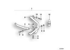Goto diagram: BMW Classic Motorbike Model R 1100 GS 94 (0404,0409)( USA ), Category 46.70 ENGINE PROTECTION BAR SET F PLASTIC TANK :: Diagram: 46_0327