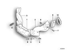 Goto diagram: BMW Classic Motorbike Model R 1100 RT 96 (0413,0418)( USA ), Category 46.63 Air duct :: Diagram: 46_0337