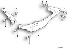Goto diagram: BMW Classic Motorbike Model F 650 ST 97 (0163,0168)( USA ), Category 46.63 RADIATOR TRIM :: Diagram: 46_0356
