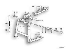 Goto diagram: BMW Classic Motorrad Modell R 1100 R 94 (0402,0407)( USA ), Category 46.52 COLLAPSIBLE STAND/SIDE STAND :: Diagram: 46_0371