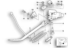 Goto diagram: BMW Classic Motorbike Model R 1200 C Indep. 00 (0405,0433)( ECE ), Category 46.53 SIDE STAND :: Diagram: 46_0390