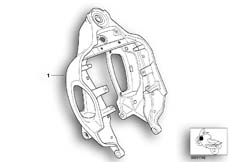 Goto diagram: BMW Classic Motorbike Model R 1200 C Indep. 00 (0405,0433)( ECE ), Category 46.51 Front frame :: Diagram: 46_0393
