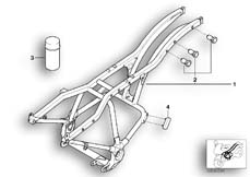 Goto diagram: BMW Classic Motorbike Model R 1200 C Indep. 03 (0362,0391)( USA ), Category 46.51 Rear frame :: Diagram: 46_0394