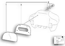 Goto diagram: BMW Classic Motorbike Model R 1150 RT 00 (0419,0499)( USA ), Category 46.63 set, backrest cushion 33 L topcase :: Diagram: 46_0454