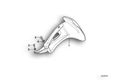 Goto diagram: BMW Classic Motorbike Model R 1150 GS Adv. 01 (0441,0492)( USA ), Category 46.62 Mudguard rear :: Diagram: 46_0589