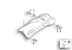 Goto diagram: BMW Classic Motorbike Model R 1100 GS 94 (0404,0409)( USA ), Category 46.62 Wheel cover, rear :: Diagram: 46_0606