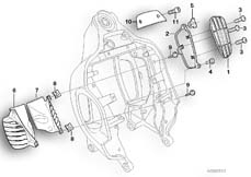 Goto diagram: BMW Classic Motorbike Model R 1200 C Indep. 03 (0362,0391)( USA ), Category 46.51 Front frame, mounted parts :: Diagram: 46_0692