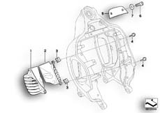 Goto diagram: BMW Classic Motorbike Model R 1200 CL (0442,0496)( USA ), Category 46.51 Front frame, mounted parts :: Diagram: 46_0807
