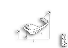 Goto diagram: BMW Classic Motorbike Model R 1150 GS Adv. 01 (0441,0492)( USA ), Category 46.70 Safety bar for double-ignition :: Diagram: 46_0826