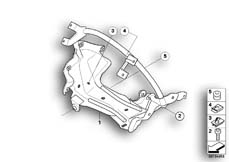 Goto diagram: BMW Classic Motorbike Model G 650 GS 09 (0178,0179)( ECE ), Category 46.63 Bracket f cockpit trim panel :: Diagram: 46_0857