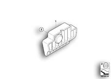 Goto diagram: BMW Classic Motorbike Model R 1150 GS Adv. 01 (0441,0492)( USA ), Category 46.54 Of off-road stopper set :: Diagram: 46_0883