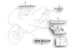 Gehe zu Diagramm: BMW Classic Motorrad Modell R 1100 S 98 (0422,0432)( ECE ), Kategorie 46.75 Aufkleber Boxer Cup Replika 2004 :: Diagramm: 46_0896