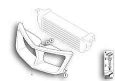 Goto diagram: BMW Classic Motorbike Model R 900 RT 05 SF (0367,0387)( ECE ), Category 46.63 Air duct, oil cooler :: Diagram: 46_0908