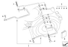 Goto diagram: BMW Classic Motorbike Model R 1200 C Indep. 00 (0405,0433)( ECE ), Category 46.54 SET SADDLE BAG HOLDER :: Diagram: 46_0923